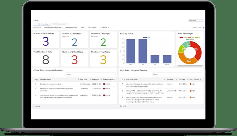 Plateforme Smart Compliance Booster
